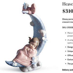 Lladro: Heaven's Lullaby Girl Figurine